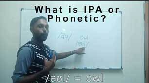 3 main guide of International Phonetic Alphabets(IPA) in Spoken English Course